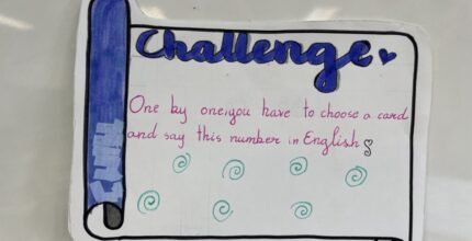 English Challenges march 2021